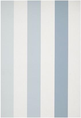 John Lewis & Partners Padstow Stripe Wallpaper, Pacific