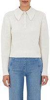 Frame Women's Button Shawl-Collar Sweater-IVORY