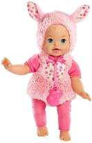 Mattel Little Mommy Dress-Up Cutie 13'' Bunny Doll