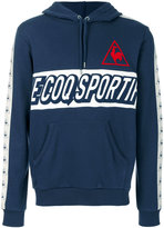 Le Coq Sportif printed logo hoodie