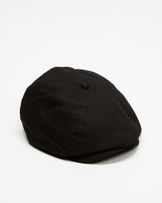 Brixton Black Caps - Brood Snap Cap - Size M at The Iconic