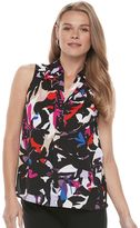 Dana Buchman Women's Smocked Top