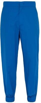 Craig Green 5 Moncler Logo-debossed Cotton Trousers - Mens - Blue