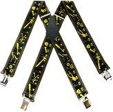 Buy Your Ties Mens Contractors Yardstick Suspender Made in USA