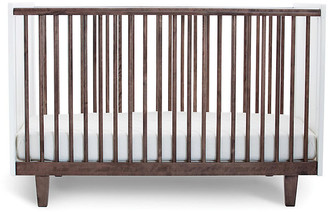 Oeuf Rhea Crib - Walnut/White