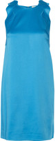 3.1 Phillip Lim Scalloped satin-crepe mini dress