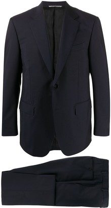 Canali Logo Tag Two-Piece Suit