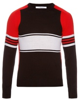 Givenchy Tri-colour Striped Sweater