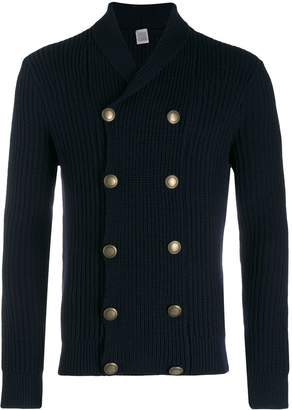 Eleventy double breasted cardigan