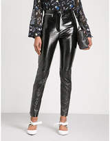 3.1 Phillip Lim Skinny high-rise patent leather trousers