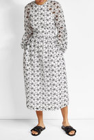 Simone Rocha Coated Anglaise Dress with Cotton