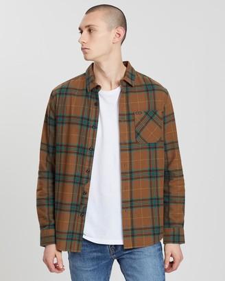 Volcom Caden Plaid Long Sleeve Shirt