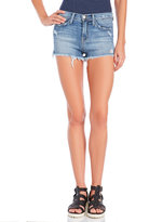 Flying Monkey Light Wash Distressed Denim Shorts