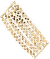 Tory Burch Wide Multi-Row Link Bracelet