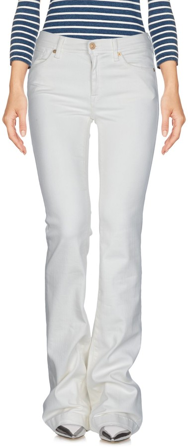 7 For All Mankind Denim pants - Item 42635497UR