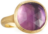 Marco Bicego Jaipur 18k Rose-Cut Amethyst Cushion Ring, Size 7
