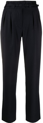 A.P.C. High-Waisted Tapered Trousers