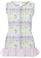 Dorothy Perkins Multi Floral Check Pyjama Top