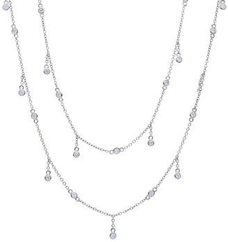 Nephora 14K 0.90 Ct. Tw. Diamond By The Yard Necklace