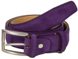 40 Colori Purple Trento Leather Belt