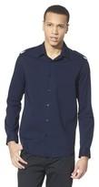 Mossimo Men's Black Epaulet Dress Shirt