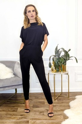 Honor Gold Finley Black trousers With Pockets