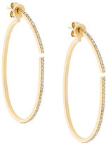 Paige Novick diamond hoop earrings