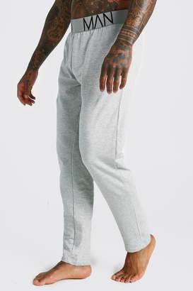 boohoo MAN French Terry Lounge Pants