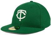 New Era Minnesota Twins St. Patty's Diamond Era 59FIFTY Cap