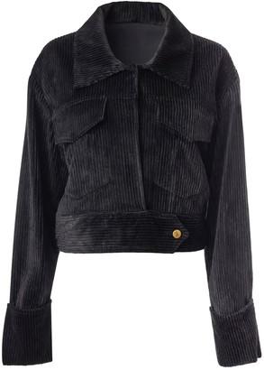 Hilary Macmillan Cord Cropped Coat