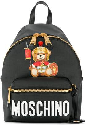 Moschino Teddy Bear Print Backpack