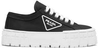 Prada Logo Plaque Tyre Low Top Sneakers