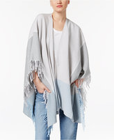 Eileen Fisher Cotton Plaid Serape