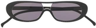 Ralph Vaessen embossed frame sunglasses