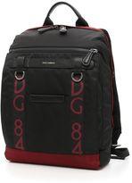 Dolce & Gabbana Bicolor Nylon Backpack