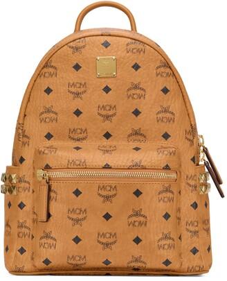 MCM Stark 32 Visetos Canvas Backpack