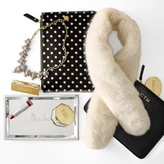 Mark And Graham Polka Dot Hide Hair Pouch