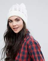 Alice Hannah Lace Stitch Beanie