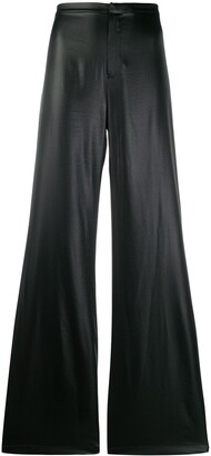 alexanderwang.t Coated Flared Trousers