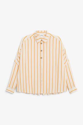 Monki Flowy button-up blouse