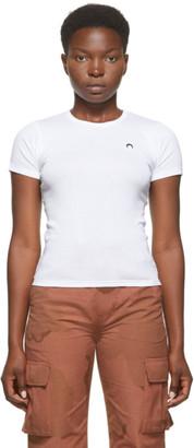 Marine Serre White Minifit Moon T-Shirt