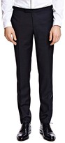 The Kooples Netting Slim Fit Tuxedo Pants