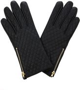 Oasis Leather Quilted Gloves