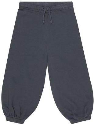 Caramel Southbank cotton-jersey trackpants