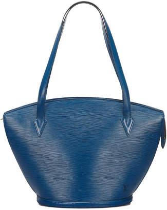 Louis Vuitton Blue Epi Leather Saint Jacques Long Strap GM Shoulder Bag
