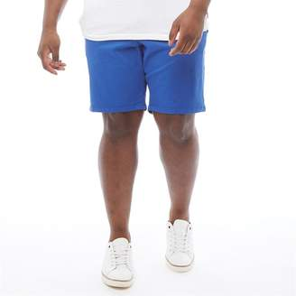 French Connection Mens Plus Size Chino 2 Shorts Mazarine Blue
