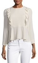 Paul & Joe Sister Domino Peplum Blouse