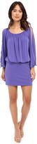 Nicole Miller Leighla Split Sleeve Blouson Dress