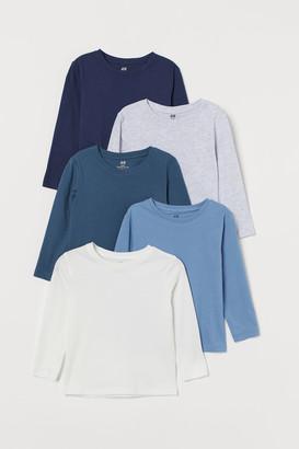 H&M 5-pack Jersey Shirts