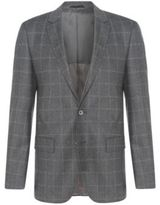 Hugo Boss Hutsons Slim Fit, Italian Wool Sport Coat 40R Grey